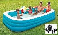 Prisma Collection Plastic Foldable Swimming Pool Bath Tubs