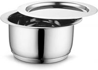 Profusion Stainless Steel Induction Base Tope/patila/bhagona with Stainless Steel lid- (Silver, 1 PC- Capacity- 1 Litre)