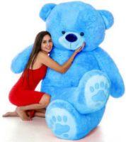 ARGK 3 Feet Teddy Bear I Love You Jumbo For Some One Special - 90 cm (Sky Blue)