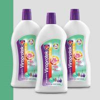 Asian Paints Viroprotek Ultra Disinfectant Floor Cleaner Pine- 500 ml (Pack of 3)