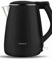 HAVELLS 1500 W (AQUA PLUS) Electric Kettle(1.2 L, Black)