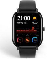 huami Amazfit GTS AMOLED Smartwatch(Black Strap, Regular)