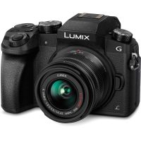 Panasonic LUMIX G7 16.00 MP 4K Mirrorless Interchangeable Lens Camera Kit with 14-42 mm Lens (Black)