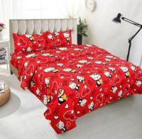 MERRIMO 150 TC Polycotton Double Cartoon Bedsheet(Pack of 1, Multicolor)
