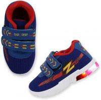 [Size 5, 7] Miss & ChiefVelcro Running Shoes For Boys(Blue)