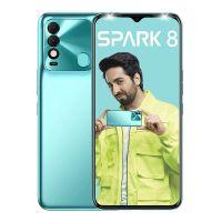 Tecno Spark 8 (Turquoise Cyan, 2 GB RAM, 64 GB Storage)   16MP Dual AI Camera