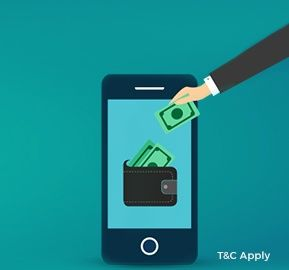 Flat Rs. 10 Cashback on Adding Rs.50 to Mobikwik Wallet