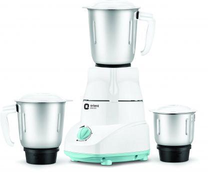 [LD] Orient Electric MGKK50B3 500 Watts Kitchen Kraft Mixer Grinder with 3 Jars (White)