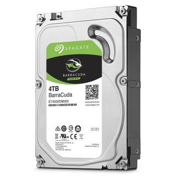 Seagate BarraCuda 4 TB Internal HDD For Laptops/Desktops (ST4000DM004)