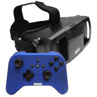 [LD] Lefant 3D VR Virtual Reality Immersive IMAX 360 View Headset Adjustable Strap + Handheld Gaming Controller