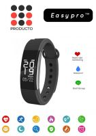 [LD] Easypro™ All Leading Smartphone Compatible Certified Bluetooth FitnessMust-1 Fitness Band with Heart Rate sensor Smart Band and fitness tracker