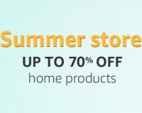 Amazon Summer Store: Upto 70% Off on Home Products