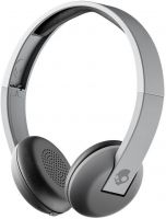 Skullcandy S5URW-K609 Uproar Bluetooth Headset with Mic  (Street Gray, On the Ear)