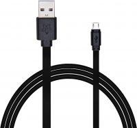 Flipkart SmartBuy Flat Charge & Sync USB Cable(Black, 1 Mtr)