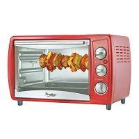 [Live @ 3PM] Prestige POTG 19L 41463 1380-Watt Oven Toaster Grill ,Red