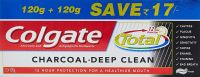 [Pantry] Colgate Total Charcoal Deep Clean Toothpaste - 240 g