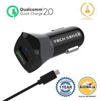 Tech Sense Lab Quick Charge 2.0 Car Charger