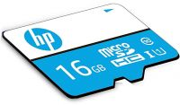 HP 16GB Class 10 MicroSD TF Memory Card (Blue)