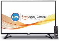 [Rs. 1000 Back] BPL 32-inch LED TV with Amazon FireTV Stick  I Smart Combo (Black) PCB